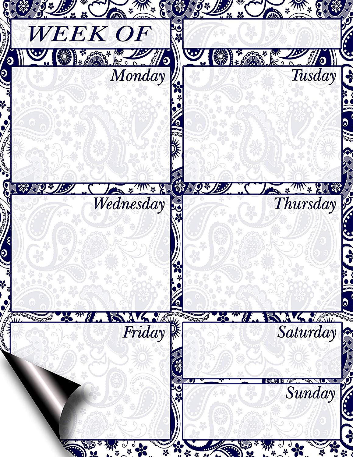 Chore Chart/Weekly Planner/to Do List/Message Board - (Edition #10) (Weekly Planner)