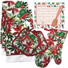 Christmas - Holiday Baking Kitchen Linen Set (6 Piece) - (Style 03)