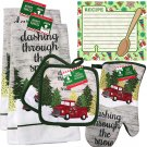 Christmas - Holiday Baking Kitchen Linen Set (6 Piece) - (Style 08)