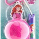Townley Disney Princess Ariel Lip Balm & Fluffy Keychain Set