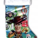 "Disney Toy Story 4 - 18"" Full Printed Christmas Stocking with Plush Cuff"