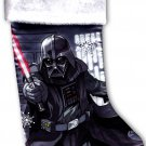 "Disney Star Wars - 18"" Full Printed Christmas Stocking with Plush Cuff"