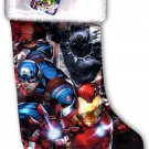 "Avengers - 18"" Full Printed Christmas Stocking with Plush Cuff"