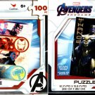 Marvel Avengers - 100 Pieces Jigsaw Puzzle - (Set of 2)