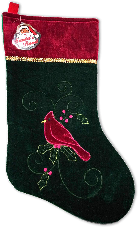 SANTA'S FINEST Christmas Stockings, 19 Inch (Edition #2)