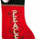 SANTA'S FINEST Christmas Stockings, 19 Inch (Edition #3)