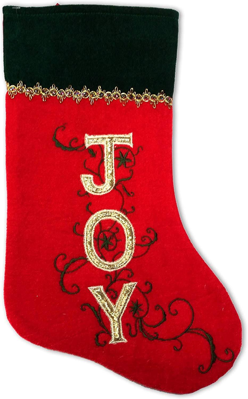 SANTA'S FINEST Christmas Stockings, 19 Inch (Edition #4)