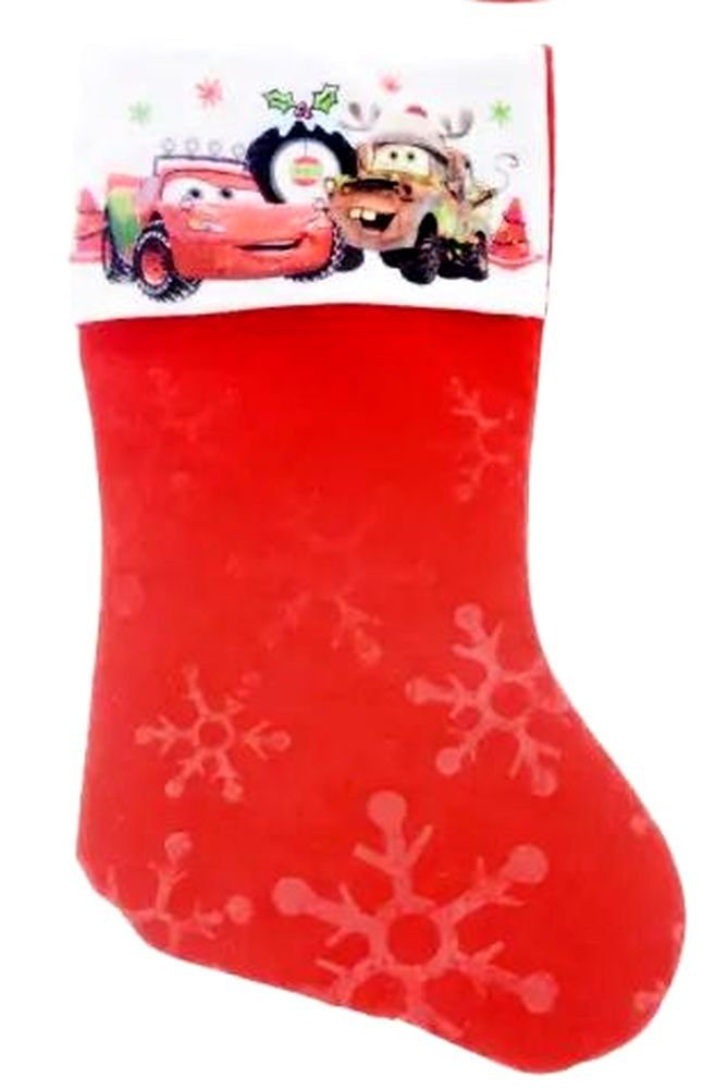 "Disney Cars - 18"" Felt Christmas Stockings"