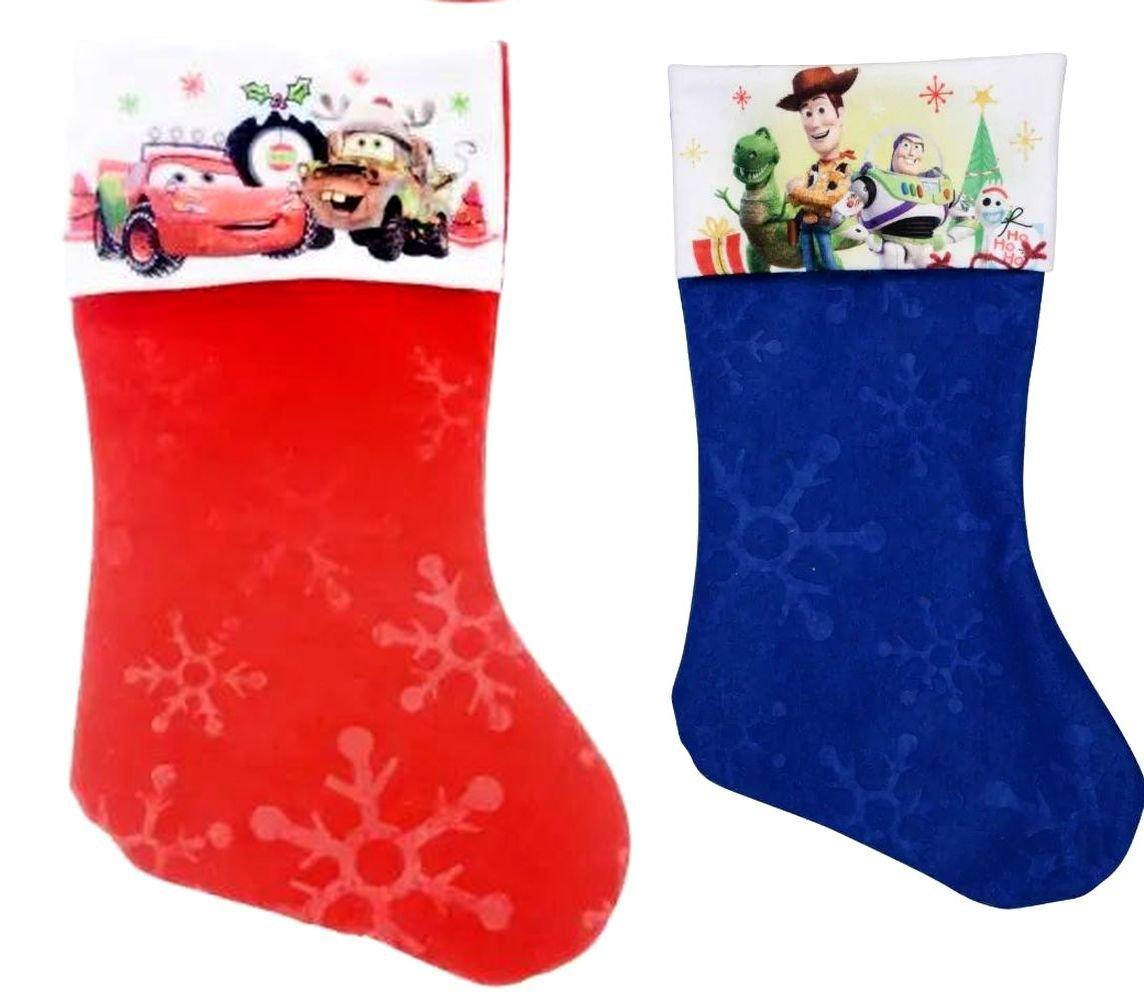 """Toy Story 4 - Cars - 18"""" Felt Christmas Stockings - (Set of 2)"""