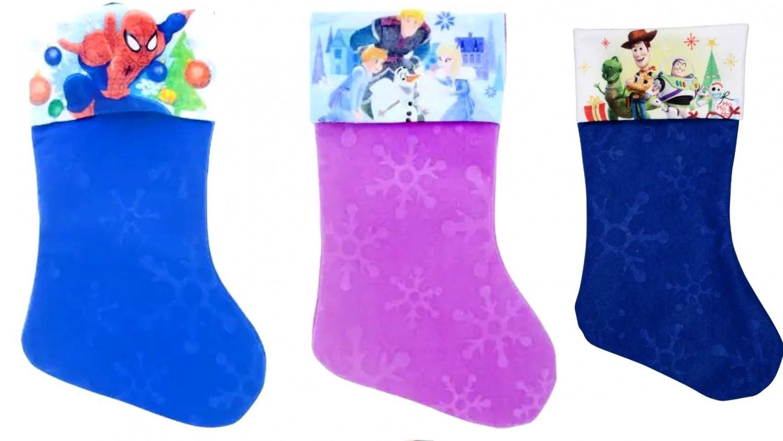 "Frozen - Spider-Man - Toy Story - 18"" Felt Christmas Stockings - (Set of 3)"