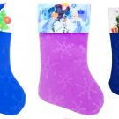 "Frozen - Spider-Man - Toy Story - 18"" Felt Christmas Stockings - (Set of 3)"