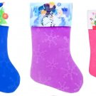 "Frozen - Spider-Man - Minnie Mouse - 18"" Felt Christmas Stockings - (Set of 3)"