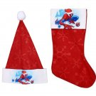 "Marvel Spider-Man - 18"" Felt Christmas Stockings and Felt Santa Hats 16-in - Licensed Character ."