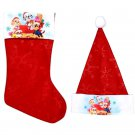 "Paw Patrol - 18"" Felt Christmas Stockings and Felt Santa Hats 16-in - Licensed Character ."