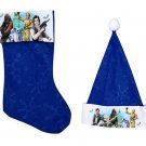 "Star Wars - 18"" Felt Christmas Stockings and Felt Santa Hats 16in - Licensed Character ."