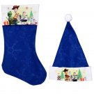 "Toy Story 4 - 18"" Felt Christmas Stockings and Felt Santa Hats 16in - Licensed Character ."