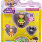 Little Sprouts Cabbage Patch Kids Series 2 Becky Arianna Mini Figure 4-Pack