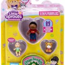 Little Sprouts Cabbage Patch Kids Series 2 Thompson Kai Mini Figure 4-Pack