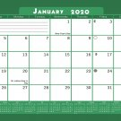 2020 Monthly Magnetic/Desk Calendar - 12 Months Desktop/Wall Calendar/Planner - (Edition #18)