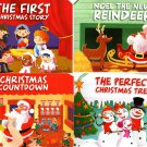 Christmas Pop-Up Board Books - (Set of 4)