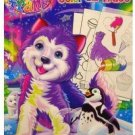 Lisa Frank Color & Trace Activity w/ Cut Out Characters, 2 Books