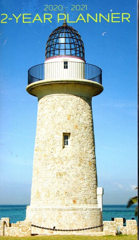 Lighthouse 2020-2021 2 Year Pocket Planner/Calendar