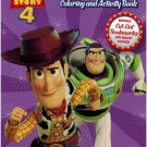 Toy Story 4 Jumbo Coloring and Activity Book, 80 Page, Pack of 2