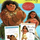 Disney Moana - Hand Lettering & Doodles Activity & Coloring Book