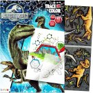 Jurassic World Coloring and Activity Book with Stickers