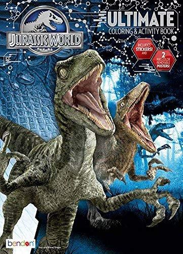 Bendon Jurassic World Ultimate Activity Book Playset