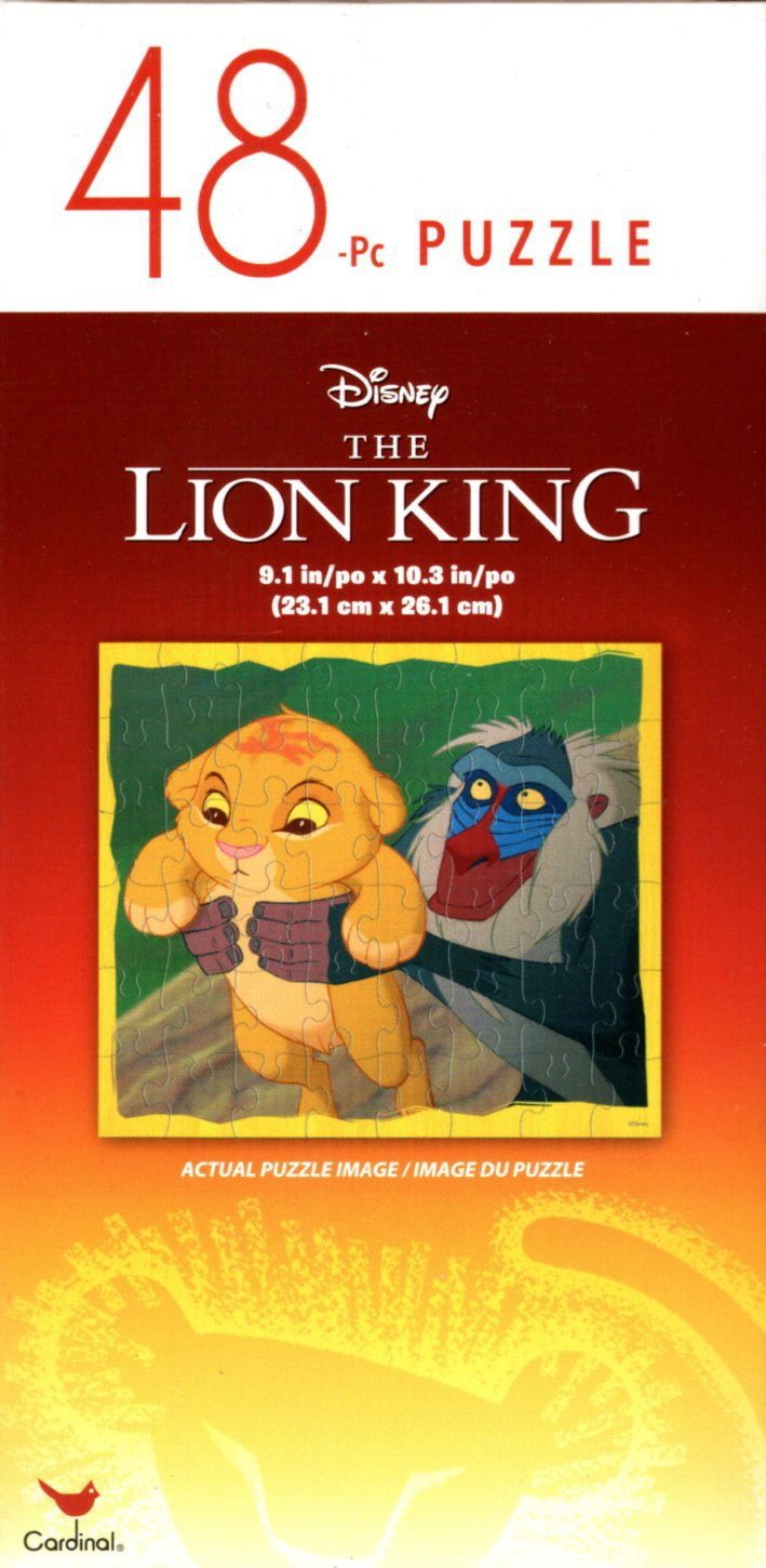 The Lion King - 48 Pieces Jigsaw Puzzle - v5