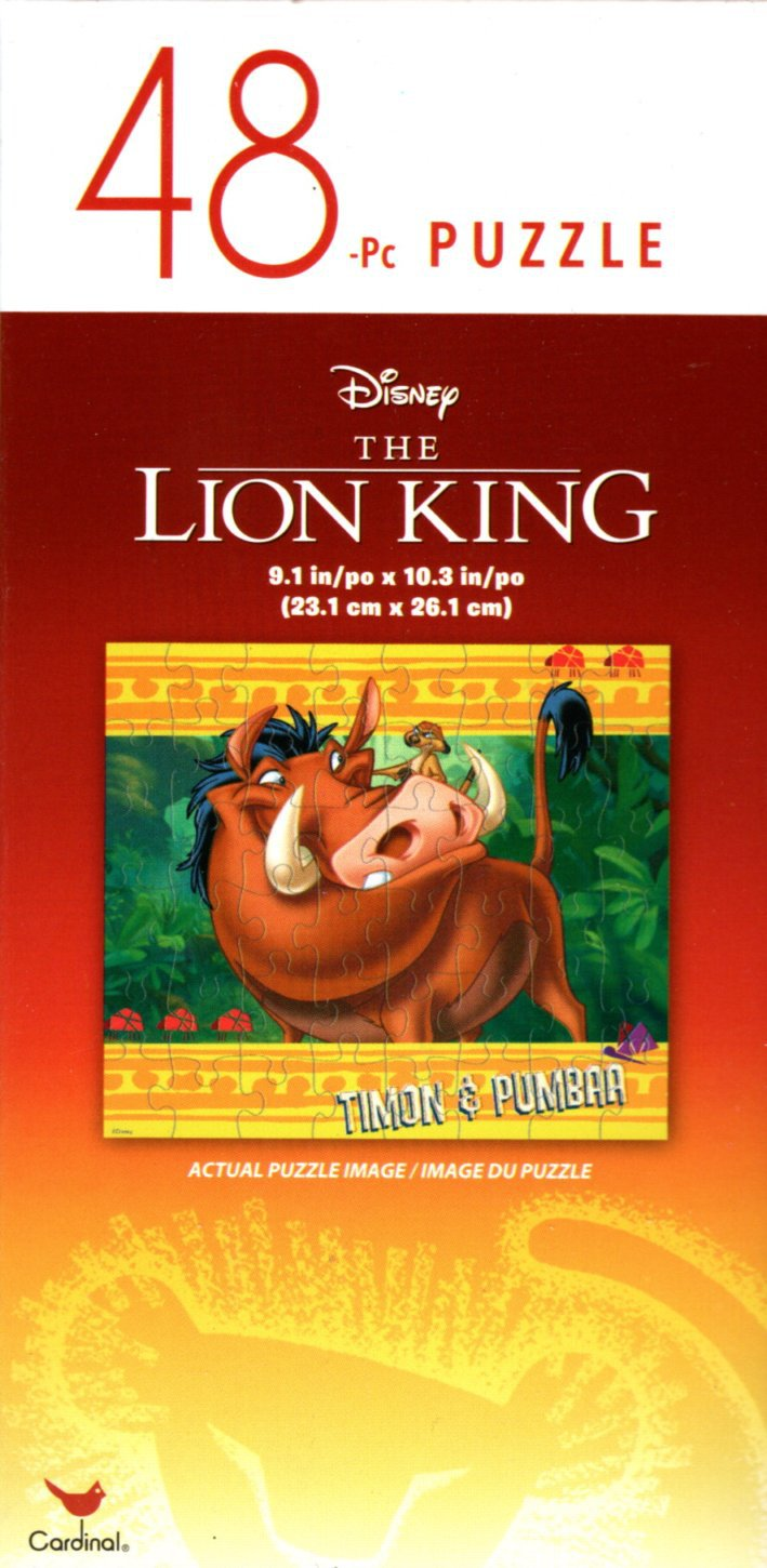 The Lion King - 48 Pieces Jigsaw Puzzle - v6