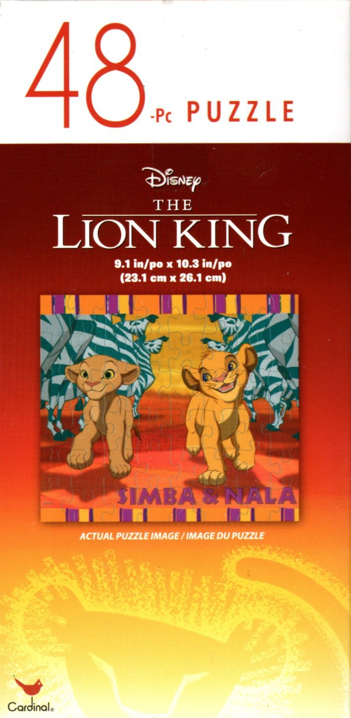 The Lion King - 48 Pieces Jigsaw Puzzle - v8