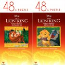 The Lion King - 48 Pieces Jigsaw Puzzle - v1 (Set of 2)