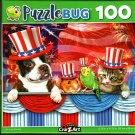 Pets Love America - 100 Pieces Jigsaw Puzzle
