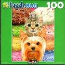 Triple Scoop - 100 Pieces Jigsaw Puzzle