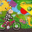 Crayola Out For Ride Learning Puzzle - 24 Pieces Jigsaw Puzzle