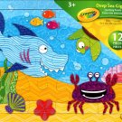 Crayola Deep Sea Giggles Learning Puzzle - 12 Pieces Jigsaw Puzzle