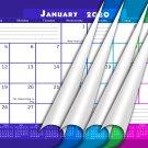 2020 Monthly Magnetic/Desk Calendar - 12 Months Desktop/Wall Calendar/Planner - (Edition #22)