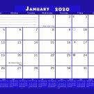 2020 Monthly Magnetic/Desk Calendar - 12 Months Desktop/Wall Calendar/Planner - (Edition #21)