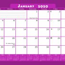 2020 Monthly Magnetic/Desk Calendar - 12 Months Desktop/Wall Calendar/Planner - (Edition #20)