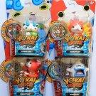 Yo-kai Watch Medal Moments 100 Punch Jibanyan, Whisper, Komasan & Jibanyan Set of 4