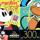 Disney Mickey + Mickey Mouse - 300 Piece Jigsaw Puzzle  - p015 (Set of 2)