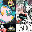 Disney Mickey Mouse + Minnie Mouse - 300 Piece Jigsaw Puzzle  - p015 (Set of 2)