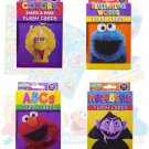Sesame Street Educational Flash Cards for Early Learning. Set includes Colors, Shapes