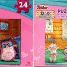 Disney Junior Doc McStuffins 24 Piece Jigsaw Puzzle - (Set of 2)