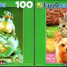 Froggy Pileup - Triple Scoop - 100 Pieces Jigsaw Puzzle (Set of 2)