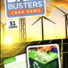 Brain Busters Card Game - Environment - with Over 150 Trivia Questions - Educational Flash Cards