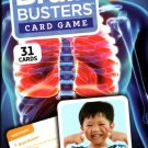 Brain Busters Card Game - Human Body - with Over 150 Trivia Questions - Educational Flash Cards