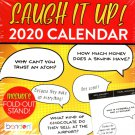 Lauch it Up - 2020 Desk Calendar Planner - Includes Fold - Out Stand